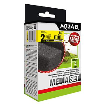 Aquael Ersatzschwammfilter Pat-Mini (2 Uni) (Fische , Filter und Pumpen , Filtermaterial)