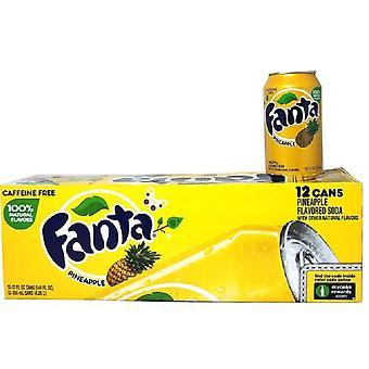 Fanta oss ananas-( 355 ml X 12 bokser )