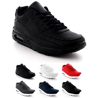 Mens Fashion Air Bubble Sport Walking Running Shoes Lightweight Trainers UK 7-13