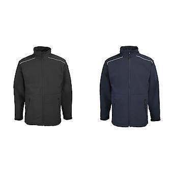 RTY Workwear Mens Softshell Workwear Jacket (coupe-vent & résistant à l'eau)
