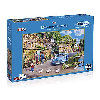 Gibsons 500XL Piece Morning Delivery Jigsaw Puzzles