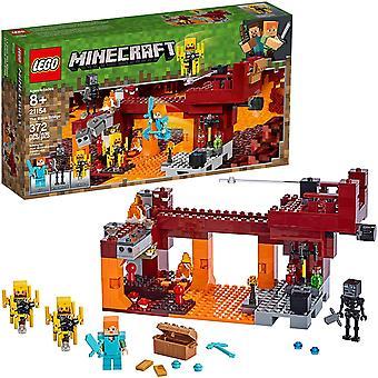 LEGO Minecraft - The Flaming Bridge