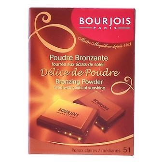 Pudră bronzantă compactă D păduchi De Poudre Bourjois (6 ml)
