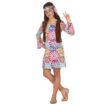 Hippie vermomming psyche meisje
