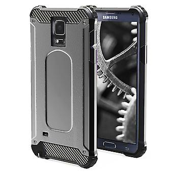 Shell pour Samsung Galaxy Note 4 - Armure Grey Protection Case