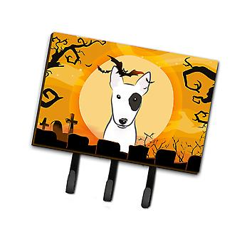 Carolines Treasures  BB1767TH68 Halloween Bull Terrier Leash or Key Holder