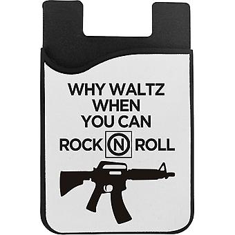The Lost Boys Why Waltz When You Can Rock N Roll Phone Card Holder