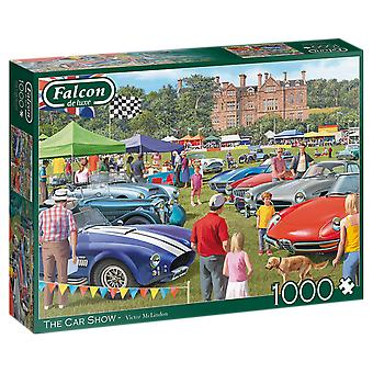 Falcon De Luxe Puzzel - The Car Show, 1000 Piece