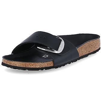 Birkenstock Madrid Iso solki 1006523MADRIDBIGBUCKLEMUSTA yleiskäyttöinen kesä naisten kengät