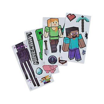 Minecraft - 21x pegatinas de pared