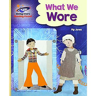 Reading Planet - What We Wore - Gold - Galaxy by Pip Jones - 978151044