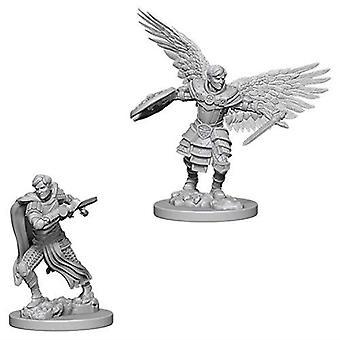 D&D Nolzur's Marvelous Unpainted Miniatures Male Aasimar Fighters (Pack of 6)