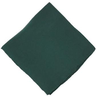 Michelsons of London Plain Silk Handkerchief - Green