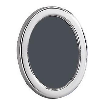 Orton West Polished Oval Photo Frame 2.5x3.5 - Silver