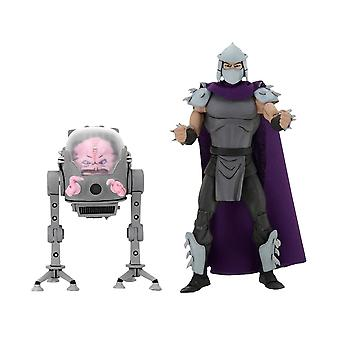 "TMNT Shredder vs Krang 7"" Actiefiguur 2-Pk"