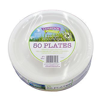 Eco Super Rigid Biodegradeable Plate 23cm