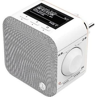 Hama IR40MBT-PlugIn Internet flush-mount radio Internet Bluetooth, Wi-Fi, Internet radio Multi-room, Spotify White