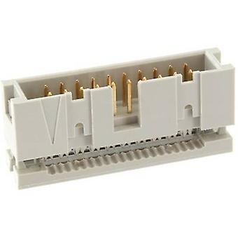 econ connect WSK26G Pin strip ingen ejektor Kontaktavstand: 2,54 mm Totalt antall pinner: 26 Nei. av rader: 2 1 stk(er) skuff