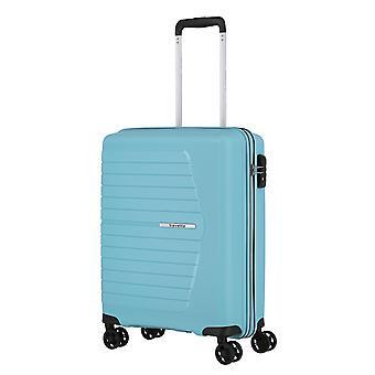 travelite Nubis Handbagage Trolley S, 4 wielen, 55 cm, 38 L, lichtblauw