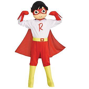 Boys Ryans World Red Titan Costume - Ryan Toys Review