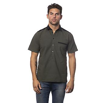 Verri Men's Military Green Shirt