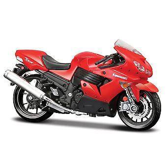 Maisto Special Edition Moottoripyörä 1:18 Kawasaki Ninja ZX 14R Punainen