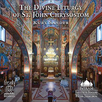 Divine Liturgy St Chrysostom [CD] USA import