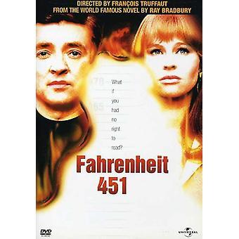 Fahrenheit 451 [DVD] USA import