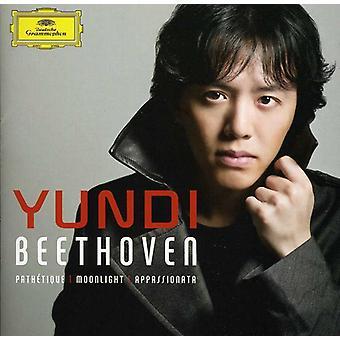 L.V. Beethoven-Beethoven: Path Tique, Moonlight, Appassionata [CD] VS importeren