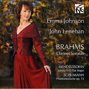 J. Brahms - Brahms: Clarinet Sonatas [CD] USA import