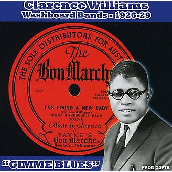 Clarence Williams - Washboard Bands 1926-1929 'Gimme Blues' [CD] USA import