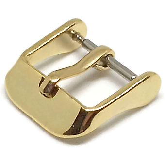 Watch strap buckle gold plated stainless steel size 8mm to 20mm