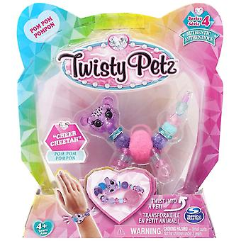 Twisty Petz Single Pack Série 4 - Cheer Cheetah