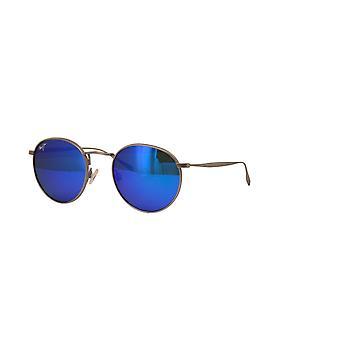 Maui Jim Nautilus B544 11B Titanium/Blue Hawaii zonnebrillen
