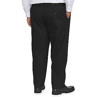 Essentials Men's Big & Tall Loose-fit, Black, Size 48W x 34L