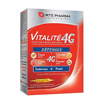 Vitality 4G Defenses 20 ampoules