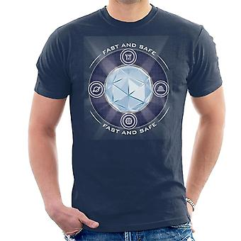 The Crystal Maze Shining Core Men's T-Shirt