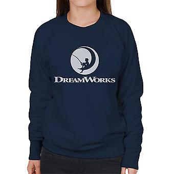 DreamWorks Fishing Boy Logo Women's Sweatshirt