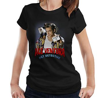 Ace Ventura Pet Detective Monkey And ID Card Women's T-Shirt
