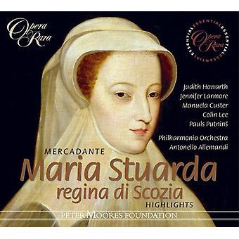 S. Mercadante - Mercadante: Maria Stuarda [Highlights] [CD] USA import