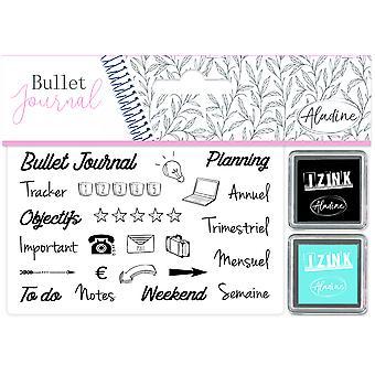 Aladine Bullet Journal Foam Stamps Organisation Desk