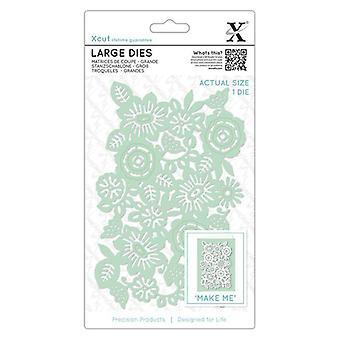 Xcut Large Dies (1pcs) - Floral Panel (XCU 504027)
