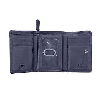 Primehide Womens Leather Purse Wallet RFID Blocking Medium Size Card Holder 2312