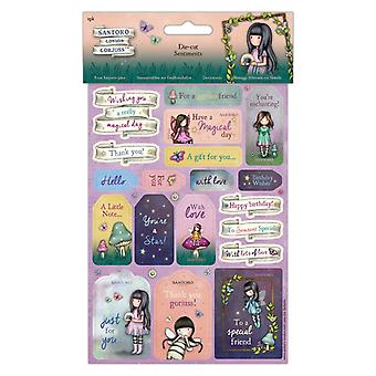 Gorjuss Faerie Friends Die-Cut Sentiments
