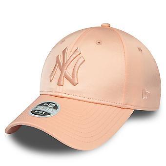 New era 9Forty ladies Cap - SATIN New York Yankees pink