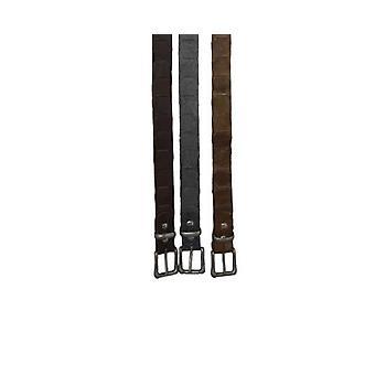 Jacaru 6034 känguru looped läderbälte 30mm