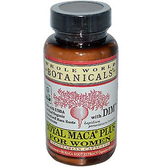 Whole World Botanicals, Royal Maca Plus For Women, 500 mg, 90 Vegetarian Capsule