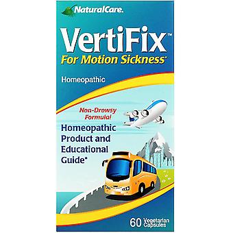 NaturalCare, VertiFix, For Motion Sickness, 60 Vegetarian Capsules