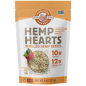 Manitoba Harvest, Hemp Hearts, Shelled Hemp Seeds, Delicious Nutty Flavor, 8 oz