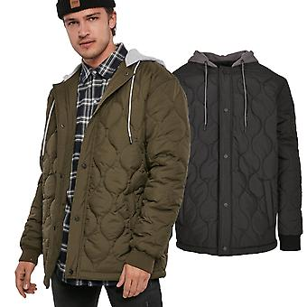 Urban Classics - Hooded Quilted Jacket black